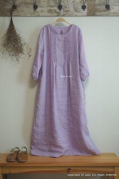 느린 작업.. 입고 싶은 린넨 원피스 : 네이버 블로그 Summer Dresses For Women, Trendy Dresses, Modest Dresses, Fashion Dresses, Kurta Designs, Simple Kurti Designs, Pakistani Dress Design, Pakistani Outfits, Designer Salwar Kameez