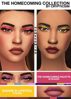 Sims 4 Maxis Match CC finds for you daily. Sims 4 Cc Packs, Sims 4 Mm Cc, Sims Four, Sims 4 Cc Makeup, Mod Makeup, Makeup Set, The Sims 4 Skin, Sims 4 Game Mods, Sims 4 Gameplay