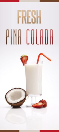 Pina Colada Smoothie - Easy made in 5 minutes. Delicious pineapple, juice, banana and coconut milk are combined for a refreshing cool drink!