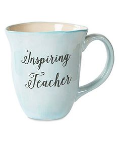 Another great find on #zulily! 'Inspiring Teacher' Mug #zulilyfinds