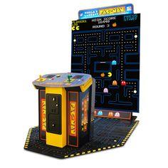 """BANDAI NAMCO Maior máquina de arcade PAC-MAN do mundo com tela de 108 """"Costco Portugal -"""