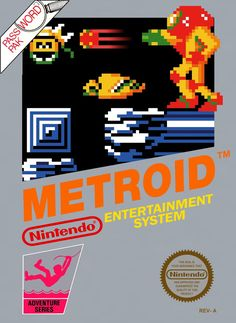 Vintage Video Games, Classic Video Games, Retro Video Games, Video Game Posters, Video Game Art, Saga Alien, Metroid Series, Nintendo Systems, Game Art