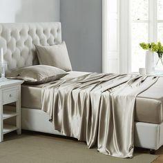 19MM Juego De Sábanas De Seda De 4 Piezas. Silk Bed SheetsBest ...