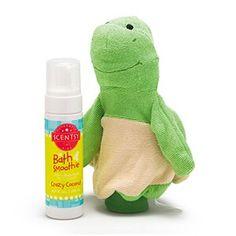 Twiggy the Turtle Scentsy Scrubby Buddy & Bath Smoothie.
