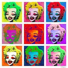 Warhol's tribute.