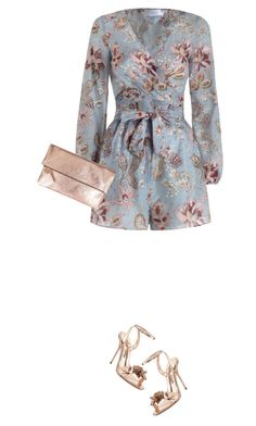 """""""Birthday Look"""" by marion-fashionista-diva-miller ❤ liked on Polyvore featuring Zimmermann, Sophia Webster, Clare V., birthdaygirl, girlsnightout and birthdaylook"""