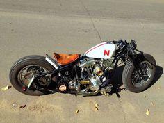 Bobber! #motorcycles #bobber #motos | caferacerpasion.com