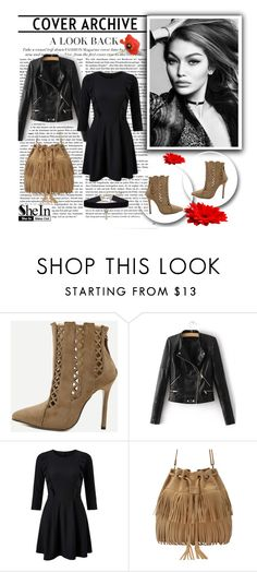 """""""SheIn 8/III"""" by hedija-okanovic ❤ liked on Polyvore featuring WithChic, Miss Selfridge and shein"""