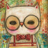 leonard the owl by Danita art