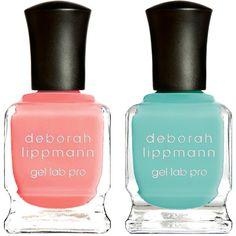 Deborah Lippmann Happy Days & Splish Splash Set ($25) ❤ liked on Polyvore featuring beauty products, nail care, nail polish, nails, beauty, makeup, no color, deborah lippmann nail lacquer, deborah lippmann nail polish and deborah lippmann nail color