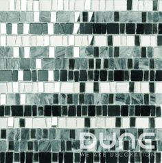 Dune Ninfa Mosaic 30 x Cheap Bathrooms, Bathrooms Online, Dune, Shades, Beige, Ceramics, Black And White, Ebay, Tiles