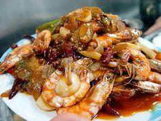 Chinese Food: 红烧大虾