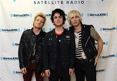 Green Day Visit SiriusXM Studios