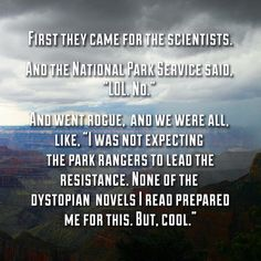 Park Rangers RULE!!!