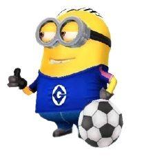 Minion Rush, Minion 2, Tartan, Soccer, Desserts, Fictional Characters, Tailgate Desserts, Futbol, Deserts