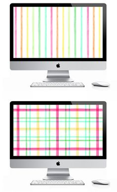 Ok, this is not printables, but how cute is this FREE Desktop Wallpaper by Eat Drink Chic