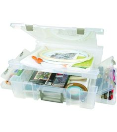 ArtBin Deluxe Super Satchel & Multi-Compartment Storage at Joann.com