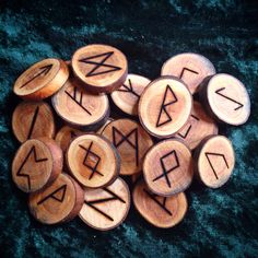 Rune sets available for sale in my etsy shop. Www.etsy.com/shop/desertroseatwa