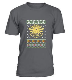 Ugly Christmas sweater for Zelda fan