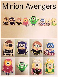 Minion Avenger Cookies