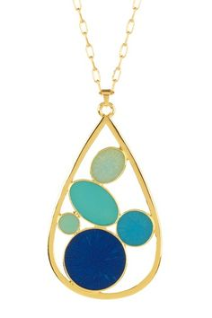 Seaglass Pendant by Trina Turk