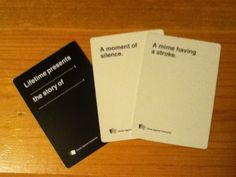 This was and always will be my crowning achievement in Cards Against Humanity