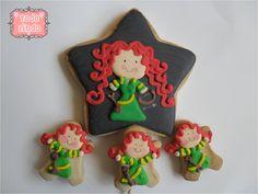 Pixar's Brave Cookies By Todo lindo www.facebook.com/todolindoparati