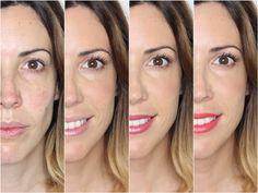 Aparichi Makeup: Blog de Maquillaje y Belleza - Maquilladora Profesional Madrid: MAQUILLAJE EXPRESS CON 3 LOOKS DE LABIOS DISTINTOS