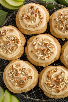 Caramel Apple Cookie - they taste just like caramel apples but in soft cookie form! DELICIOUS!