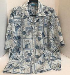 Hibiscus Collection Hawaii Mens Size Large Blue Hawaiian SS Button Up Shirt Kids Cartoon Characters, Cartoon Kids, Blue Hawaiian, Mens Button Up, Spongebob Squarepants, Men's Clothing, Hibiscus, Bro, Islands