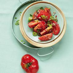 Tomatensalat mit Chilis