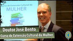Dr. José Bento fala ao Curso de Extensão Cultural da Mulher