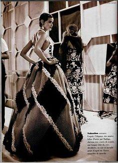Nadege backstage at Valentino, by Jonathan Lennard, 1992