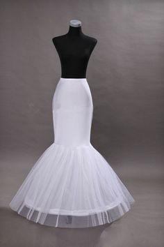 Jupon rochie de mireasa sirena cu un cerc, SelfEvents.ro,