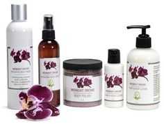 New Midnight Orchid| Lemongrass Spa Products| SGLemongrass| All-Natural Skin Care| Cruelty Free|