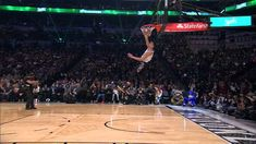 Zach LaVine went between the legs for this amazing first-round jam and scored a perfect 50. About the NBA: The NBA is the premier professional basketball lea...