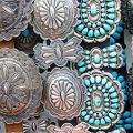 Native American Turquoise Silver Bracelets Online - Perry Null Trading