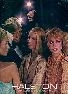 HALSTON AD ABOUT 1978