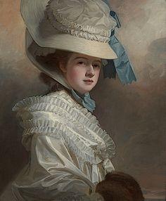 George Romney - Portrait of Lady Edward Bentinck