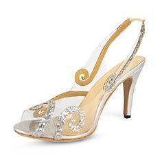bc charol talón bomba honda de las mujeres zapatos de las sandalias de vuelta – USD $ 41.99