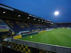 Trendwork Arena, Sittard-Geleen, Países Bajos, Capacidad 12,500 espectadores, Equipo local Fortuna Sittard.