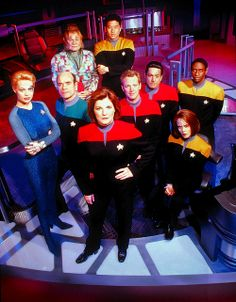 Star Trek Voyager Crew Yeah, I watched this too...