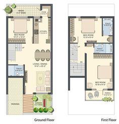 100 sq yds 20x45 sq ft west face house 1bhk floor plan jpg ideas