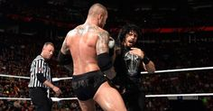 With+members+of+The+Authority+serving+special+roles+in+and+around+the+ring,+Roman+Reigns+and+Randy+Orton+square+off+in+Raw's+main+event.