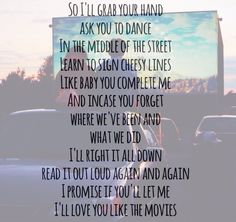 """""""Love You Like the Movies"""" - Anthem Lights"""