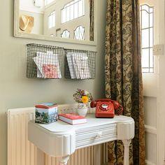 Hallway telephone table | Traditional hallway design ideas | Decorating | housetohome.co.uk