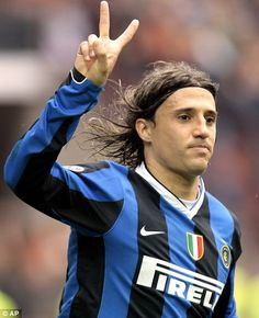Hernan Crespo - the complete striker. Loved watching him play.