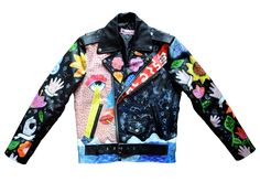 This one of a kind jacket is something you will never see on anyone else! The…