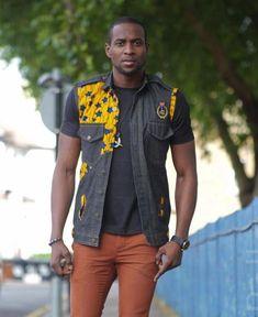 Afrocentric Ankara. #African #Men's #Fashion