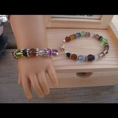 Girl and doll bracelets. Many ready to go or custom order! #gifts #girls #girlsgifts #dolls #dollbracelets #girlbracelets #etsy #etsyshop #etsyfinds #girlanddoll #girlanddolllove #pottiteam #holidays #holidayshopping  Link in My Bio
